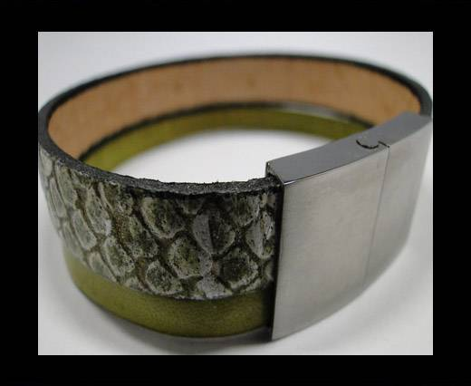 Leather Bracelets Supplies Example-BRL27
