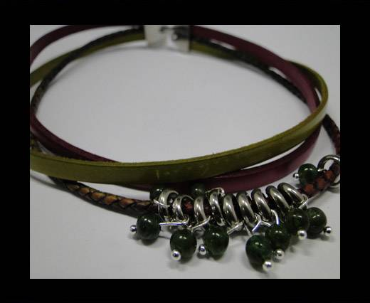Leather Bracelets Supplies Example-BRL29