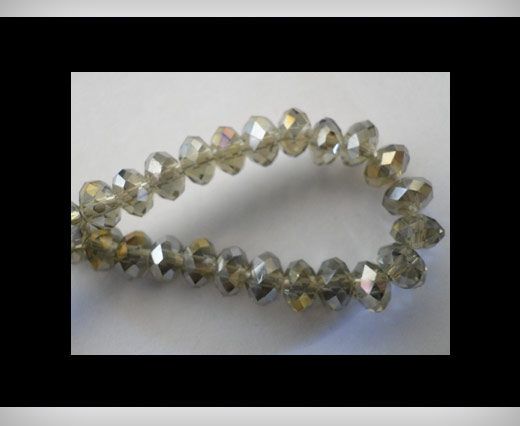 Buy Faceted Glass Beads-6mm-Black-Diamond-AB at wholesale prices