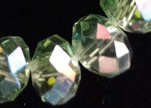 Faceted Glass Beads-8mm-Crystal-AB