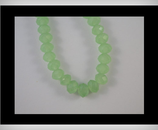 Buy Faceted Glass Beads-6mm-Pacific Opal at wholesale prices