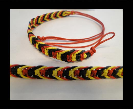 Buy Fancy Cord Bracelet -FJ04-BYR at wholesale prices