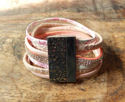 Buy FashionBracelet13 - Pink at wholesale prices