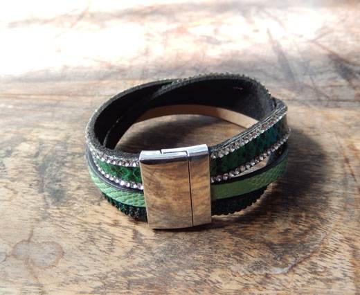Buy FashionBracelet30 - Green at wholesale prices