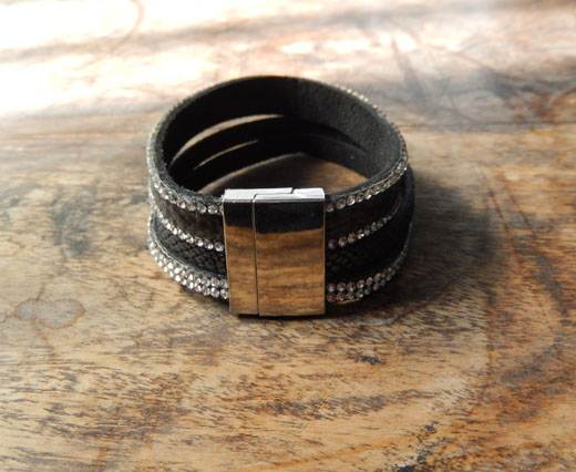 FashionBracelet31 - Black