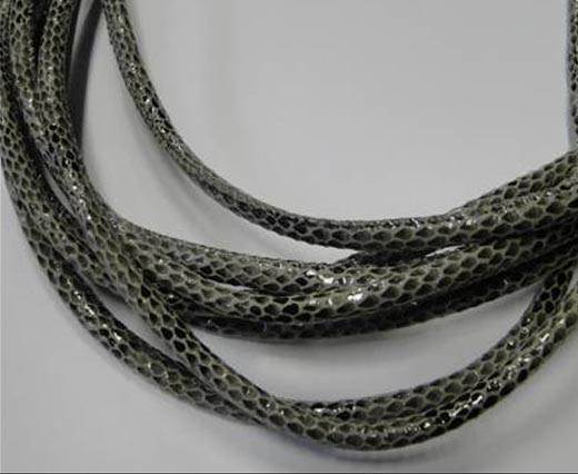 Fine Nappa-Snake-style-Version 1-Grey-4mm