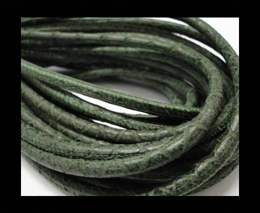 Buy Fine Nappa-Snake-style-Green -4mm at wholesale prices