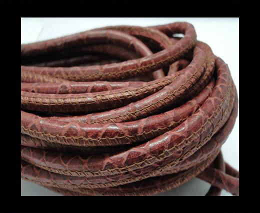 Buy Fine Nappa-Snake-style-Red -4mm at wholesale prices