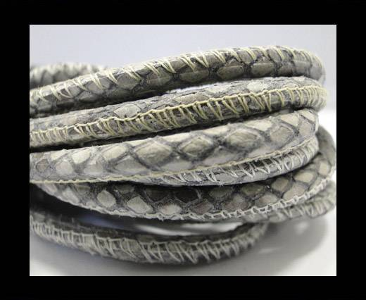 Buy Fine Nappa-Snake-style-Grey -4mm at wholesale prices
