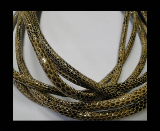 Fine Nappa-Snake-style -Version1-Brown-6mm
