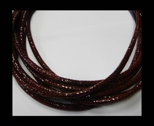 Fine Nappa-Snake-style -Version1-Maroon-6mm