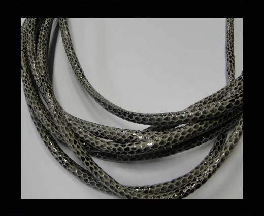 Fine Nappa-Snake-style -Version 1-Grey-6mm