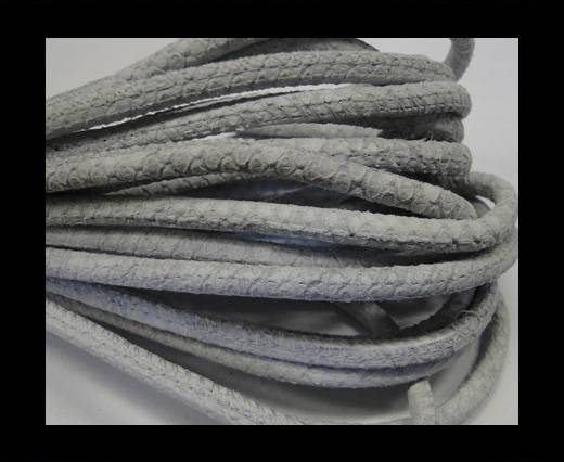 Buy Fine Nappa-Snake-style-grey white-4mm at wholesale prices