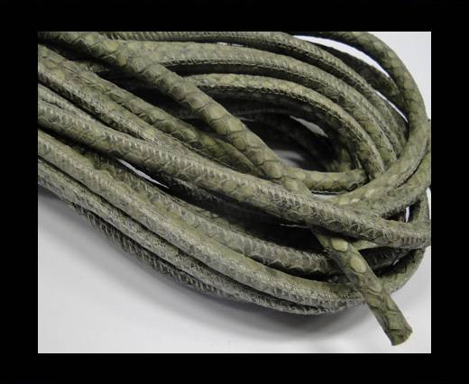 Buy Fine Nappa-Snake-style-Moss Grey-6mm at wholesale prices