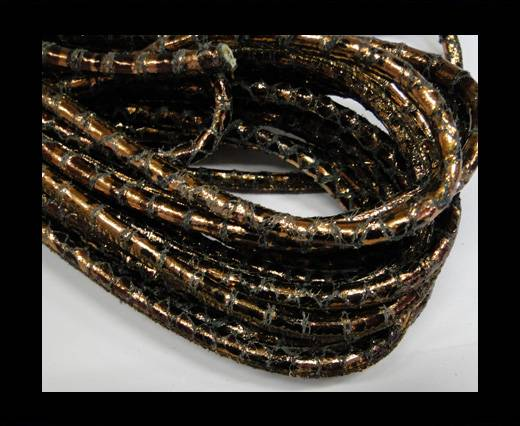 Buy Fine Nappa-Snake-style-Crackled Bronze-6mm at wholesale prices