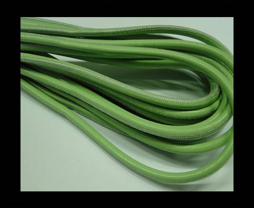 Fine Nappa-Stitch Style Apple Green-4mm