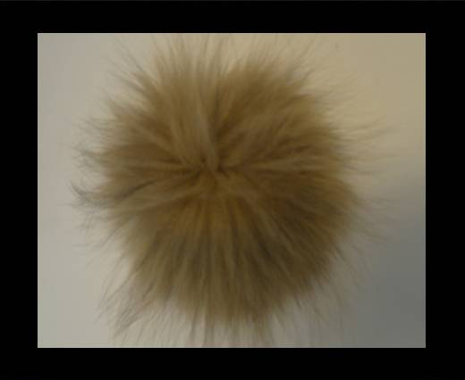 Buy Finn Raccoon Pom Pom-Cognac-14cms at wholesale prices