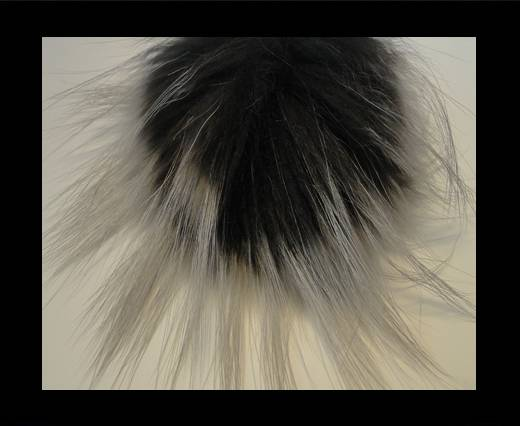 Buy Finn Raccoon Pom Pom-Dark Grey-14cms at wholesale prices