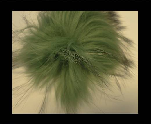 Buy Finn Raccoon Pom Pom-Green-14cms at wholesale prices
