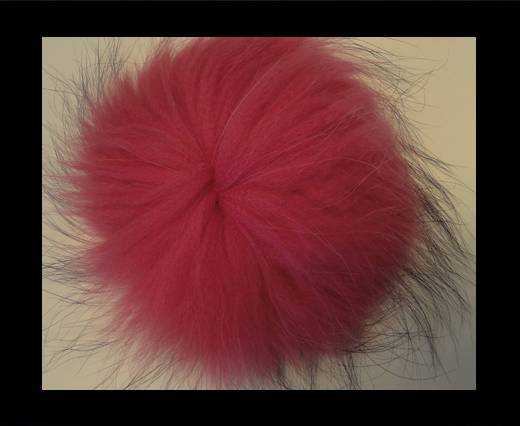 Buy Finn Raccoon Pom Pom-Pink-14cms at wholesale prices
