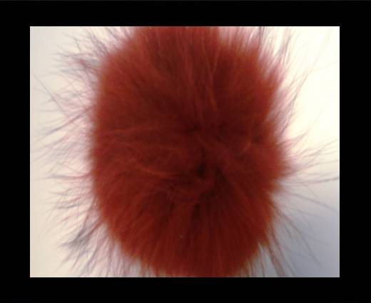 Buy Finn Raccoon Pom Pom-Red-14cms at wholesale prices