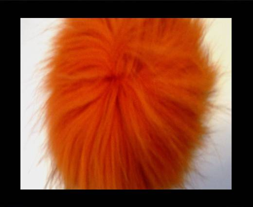 Buy Finn Raccoon Pom Pom-Orange-14cms at wholesale prices