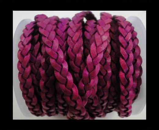 Choti-Flat 3-ply Braided Leather -SE-BC-10-5MM