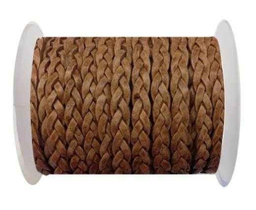 Choti-Flat 3-ply Braided Leather --SE-PB-04-5MM
