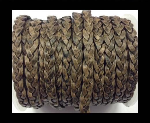 Choti-Flat 3-ply Braided Leather --SE-PB-11-5MM