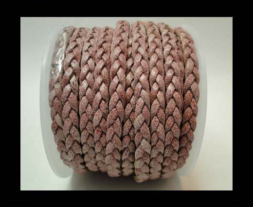 Choti-Flat 3-ply Braided Leather -5mm-SE FBCW 05