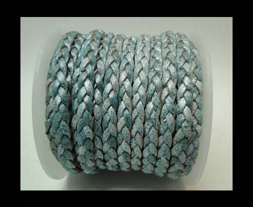 Choti-Flat 3-ply Braided Leather -5mm-SE FBCW 011