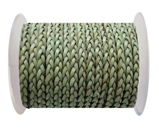 Flat 3-ply Braided Leather-SE-B-516-3MM