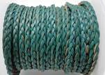 Flat 3-ply Braided Leather-SE-B-2015-3MM