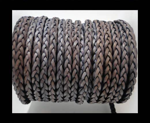 Buy Flat 3-ply Braided Leather-SE-DB-13-3MM at wholesale prices