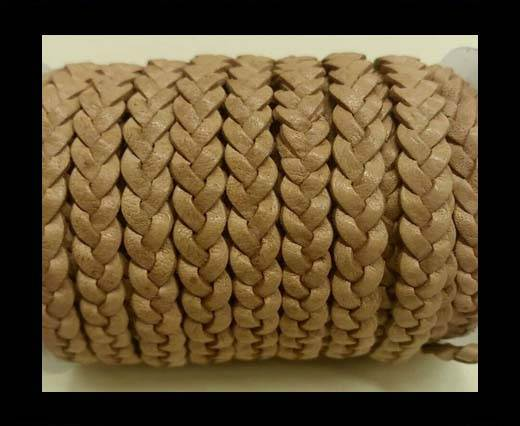Choti-Flat 3-ply Braided Leather -SE DB 21