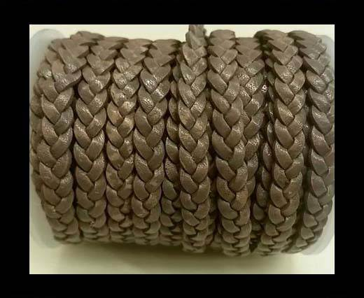 Choti-Flat 3-ply Braided Leather -SE FBC 11