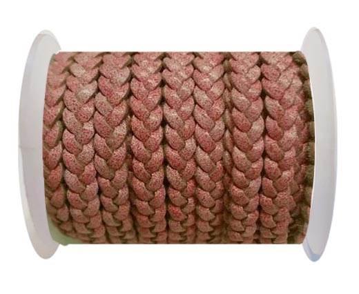 Choti-Flat 3-ply Braided Leather -SE FBCW 08