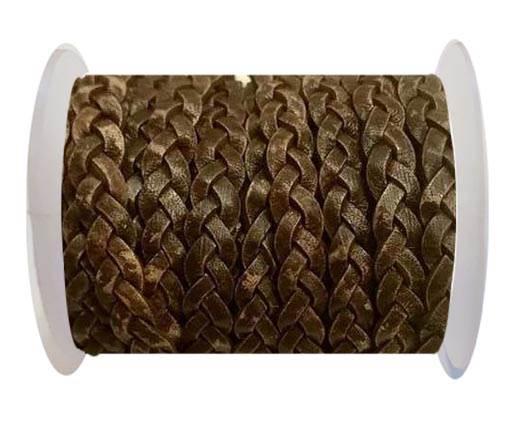 Choti-Flat 3-ply Braided Leather -SE PB 10