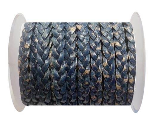 Choti-Flat 3-ply Braided Leather -SE PB 15