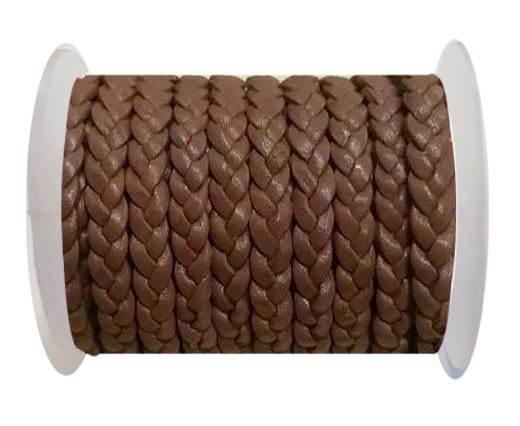 Choti-Flat 3-ply Braided Leather -SE Taupe