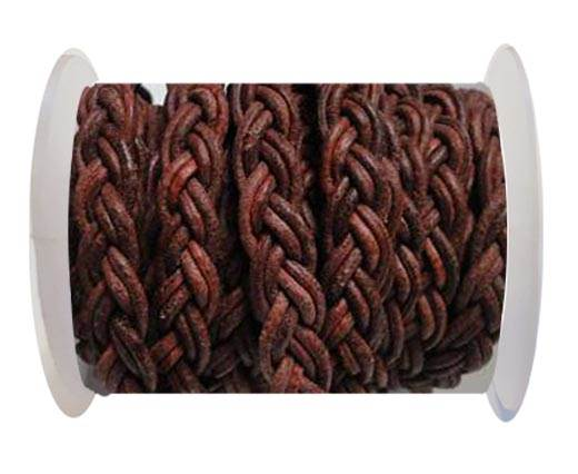 Flat Braided Cords-10MM- Twist Style- Cognec