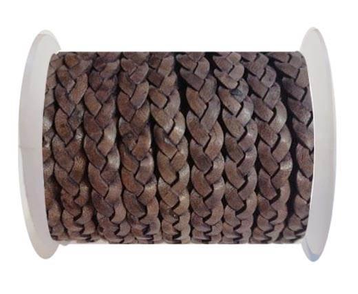 Choti-Flat 3-ply Braided Leather --5MM-SE DB 13