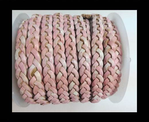 Choti-Flat 3-ply Braided Leather --5MM-SE FBCW 14