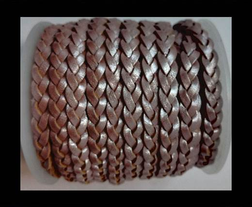 Choti-Flat 3-ply Braided Leather --5MM-SE M 01