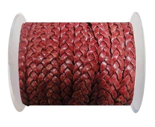 Choti-Flat braided leather 3 ply 5mm - SE PB 13