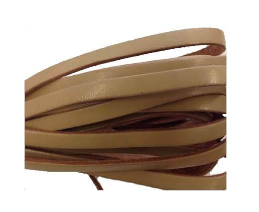 Flat Leather Italian 5mm - natural