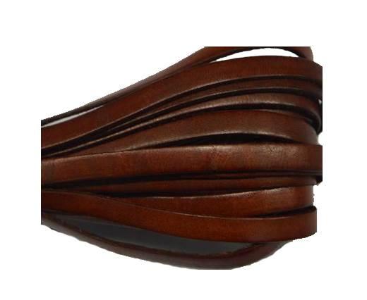 Flat Leather Italian - 5mm - Brown