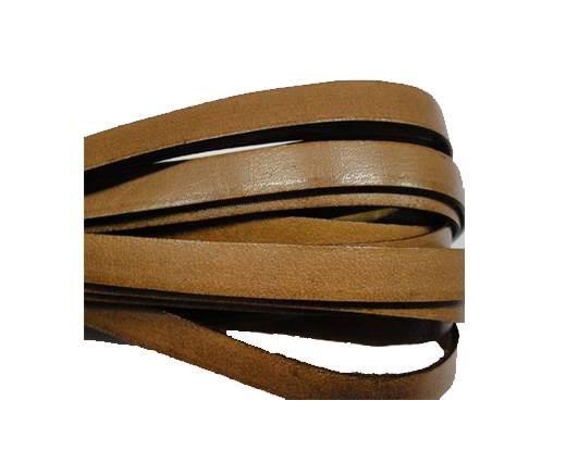 Flat Italian -Light brown -8mm*2mm