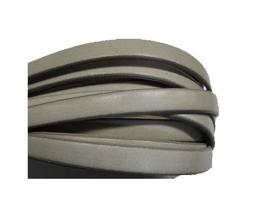 Flat Italian -Light grey-8mm*2mm
