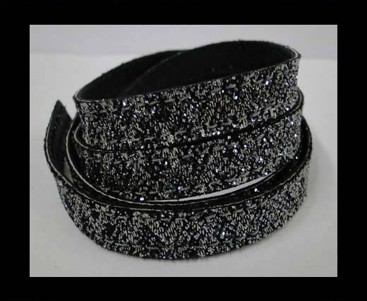 Buy Flat Nappa Glitter  Stitch Cord 10mm - SE-FNG-12 at wholesale prices